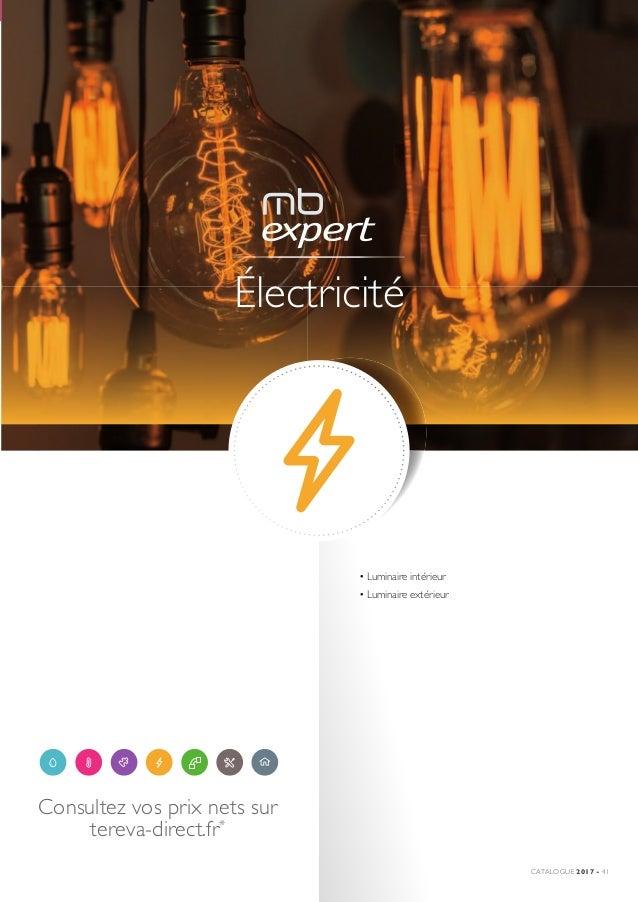 Tereva Notre Catalogue Electricite 2017