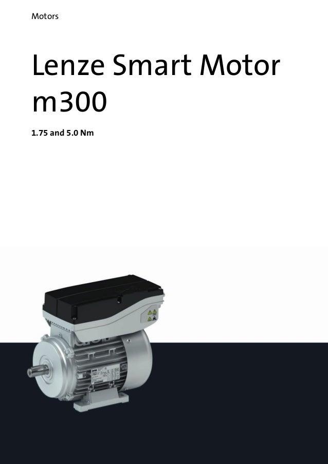 Catalogue Lenze Smart Motor