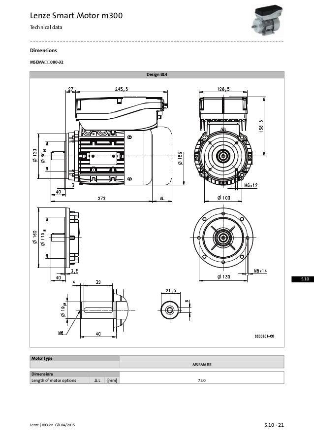 lenze smart motor m300 accessories 5 10