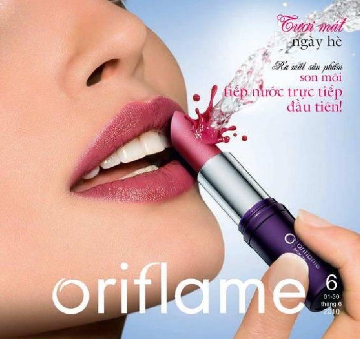 Catalogue my pham oriflame 6.2010