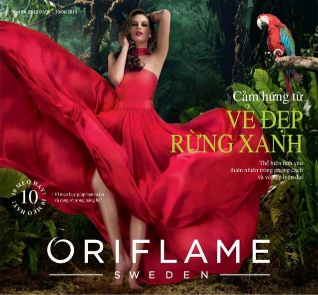 Catalogue My Pham Oriflame 6-2013