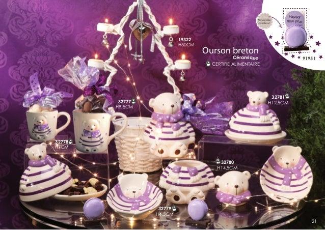 Nouvelle couleur  19322 H50CM  Happy new year  Ourson breton  Céramique CERTIFIE ALIMENTAIRE  91951  32781 H12,5CM  32777 ...