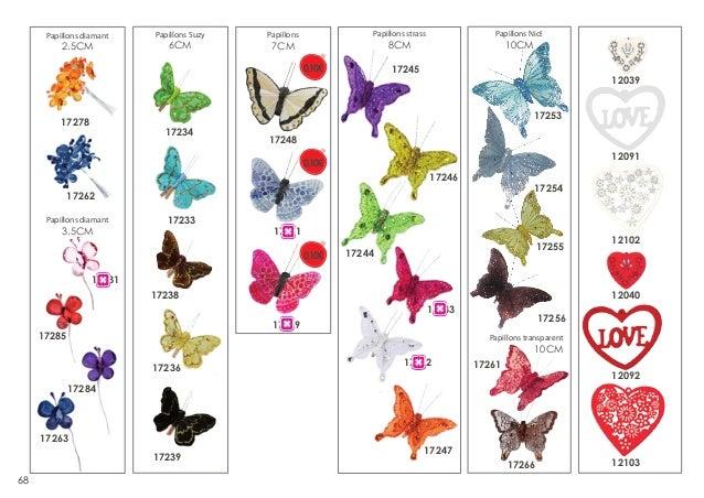 Papillons diamant  2.5CM  Papillons Suzy  6CM  Papillons Nice  Papillons strass  Papillons  10CM  8CM  7CM  0,10€  17245  ...