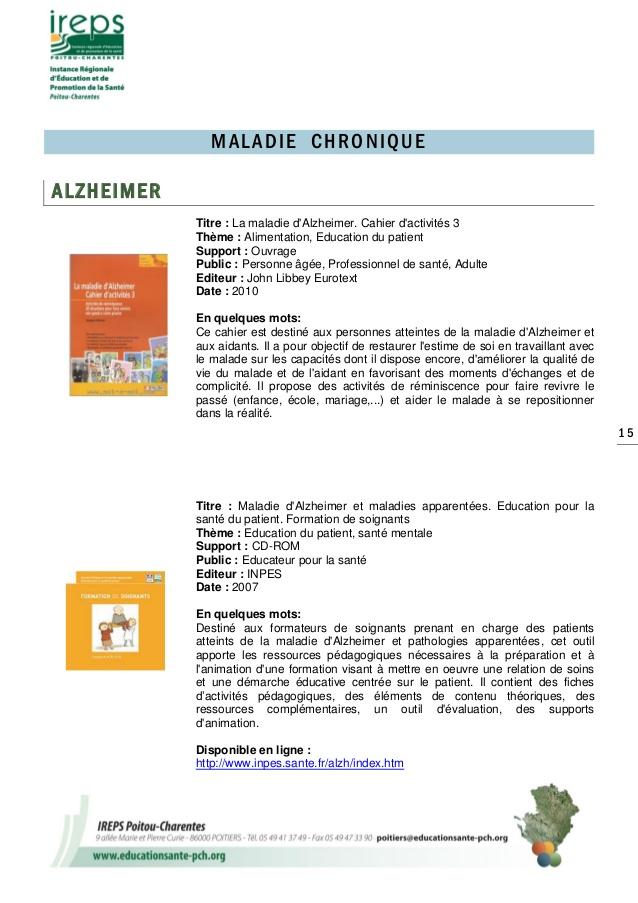 Top Catalogue d'outils pédagogiques en éducation thérapeutique du patient JF24