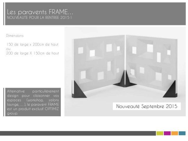 catalogue optimiz group mobilier et decoration sept 2015. Black Bedroom Furniture Sets. Home Design Ideas