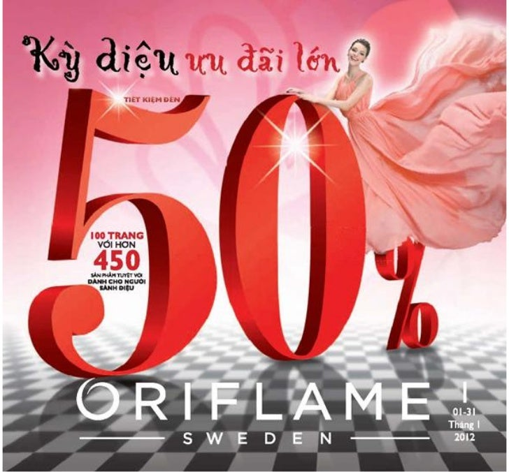 Catalogue Oriflame 1-2012