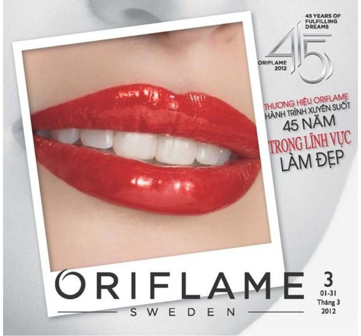 Catalogue Oriflame 3-2012