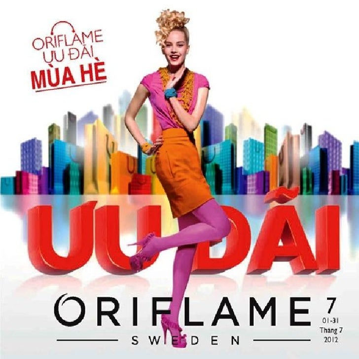 Catalogue Oriflame 7-2012