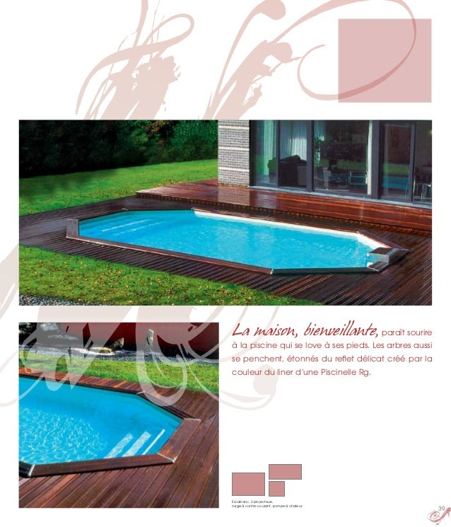 La maison de la piscine catalogue segu maison for Catalogue piscine