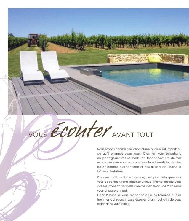 catalogue piscine piscinelle ann e 2015