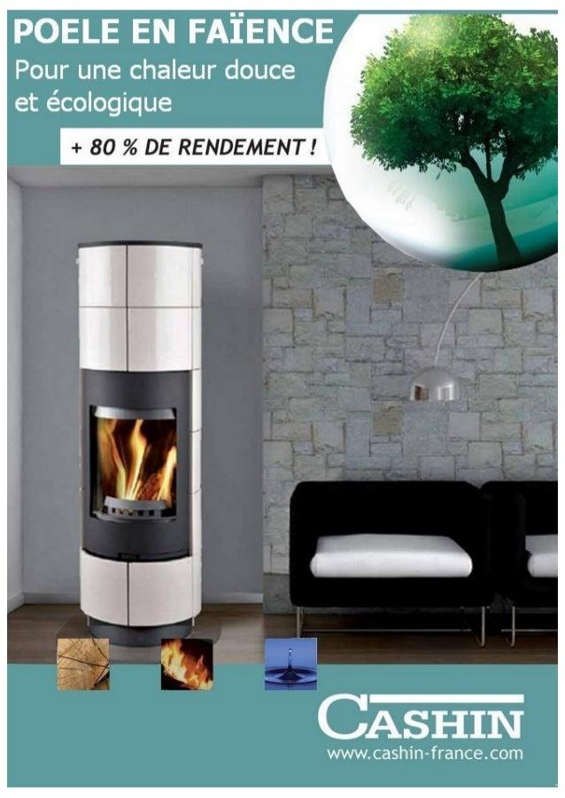 Catalogue poêles à bois faience cashin 2015