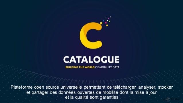 Plateforme open source universelle permettant de télécharger, analyser, stocker et partager des données ouvertes de mobili...