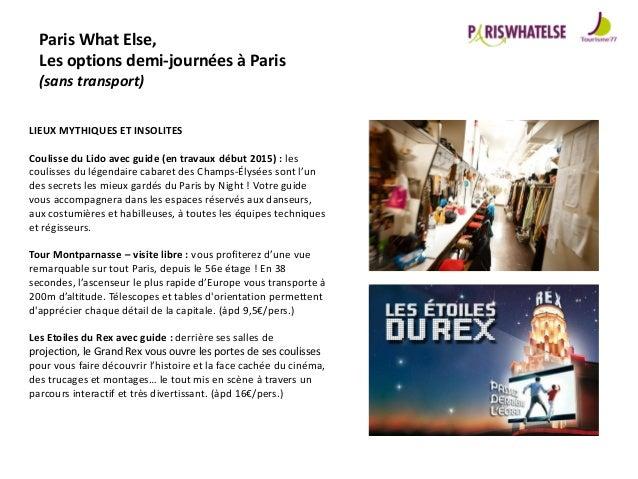 Catalogue Produits Groupes 2015 Parisest