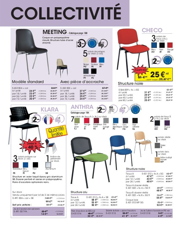 Mobilier de bureau aocp solutions promo oct 2014 janvier 2015 for Catalogue mobilier bureau
