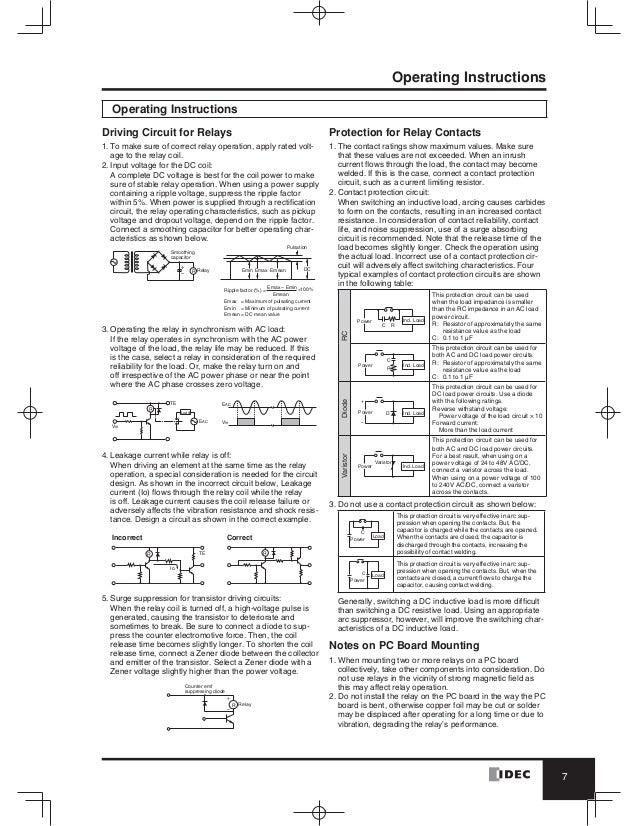catalog-relay-idec-beetecocom-8-638 Idec Relay Socket Wiring Diagram Also on