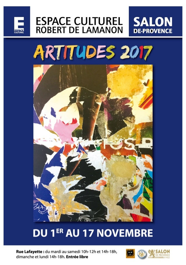 Artitudes 2017 catalogue expo salon de provence for Salon des agricultures de provence 2017