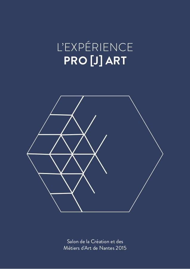 L'EXPÉRIENCE PRO [J] ART Salon de la Création et des Métiers d'Art de Nantes 2015