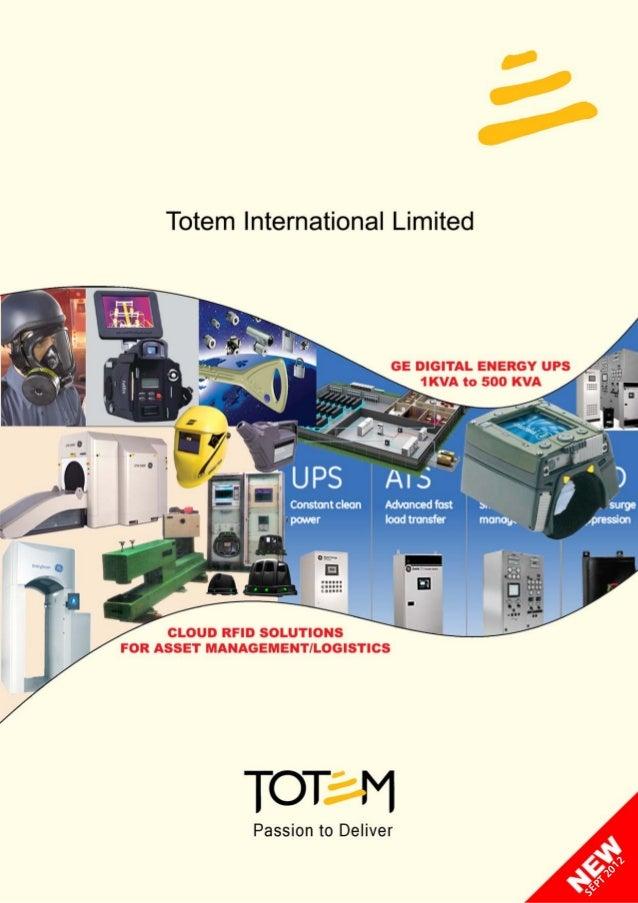 totem Catalogue Sept 2012