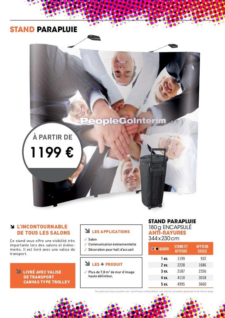 STAND PARAPLUIE             À PARTIR DE         A1 €         1199 �                                                       ...