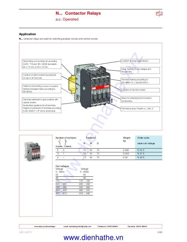 Abb Contactor Wiring Diagram | Machine Repair Manual on