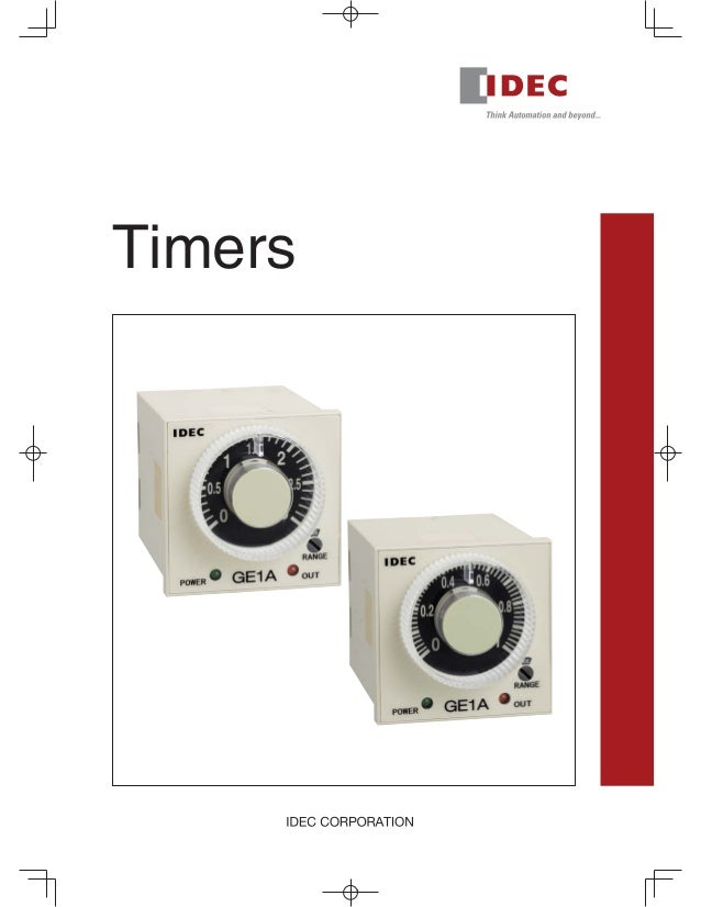 Catalogue Timer Idec - Beeteco.com on