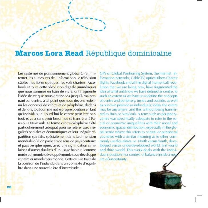 Marcos Lora Read République dominicaine     Les systèmes de positionnement global GPS, l'in-         GPS or Global Positio...