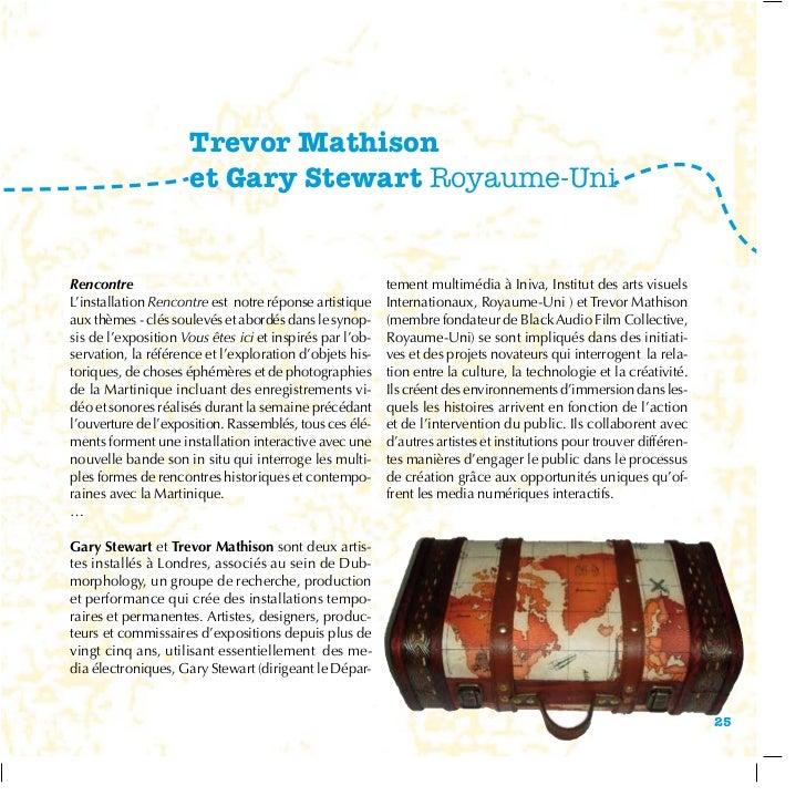 Trevor Mathison                     et Gary Stewart Royaume-UniRencontre                                                 t...