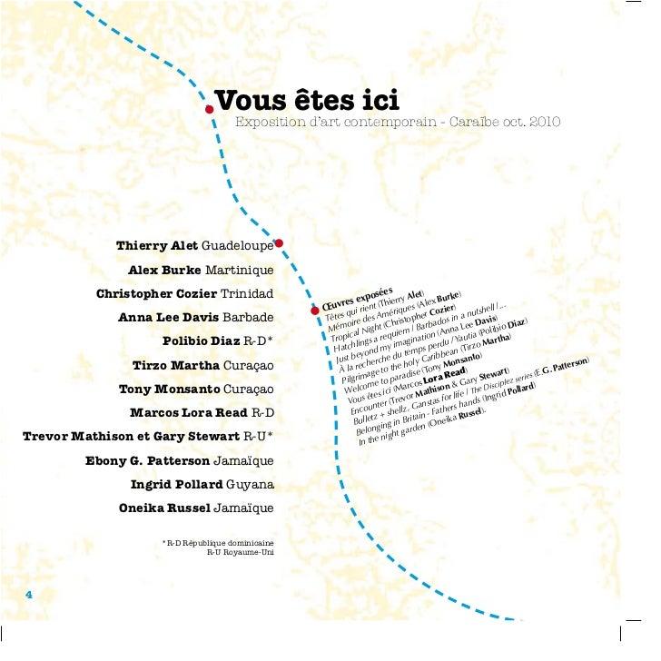 Vous êtes ici                                    Exposition d'art contemporain - Caraïbe oct. 2010             Thierry Ale...