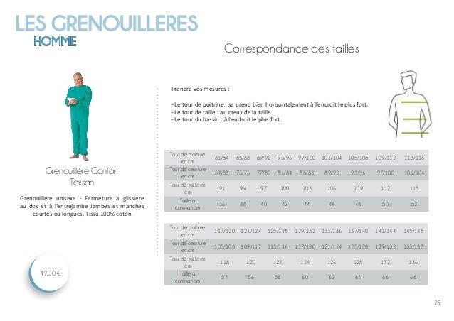 LES GRENOUILLERES HOMME 29 Grenouillère Confort Texsan 49,00 € Grenouillère unisexe - Fermeture à glissière au dos et à l'...