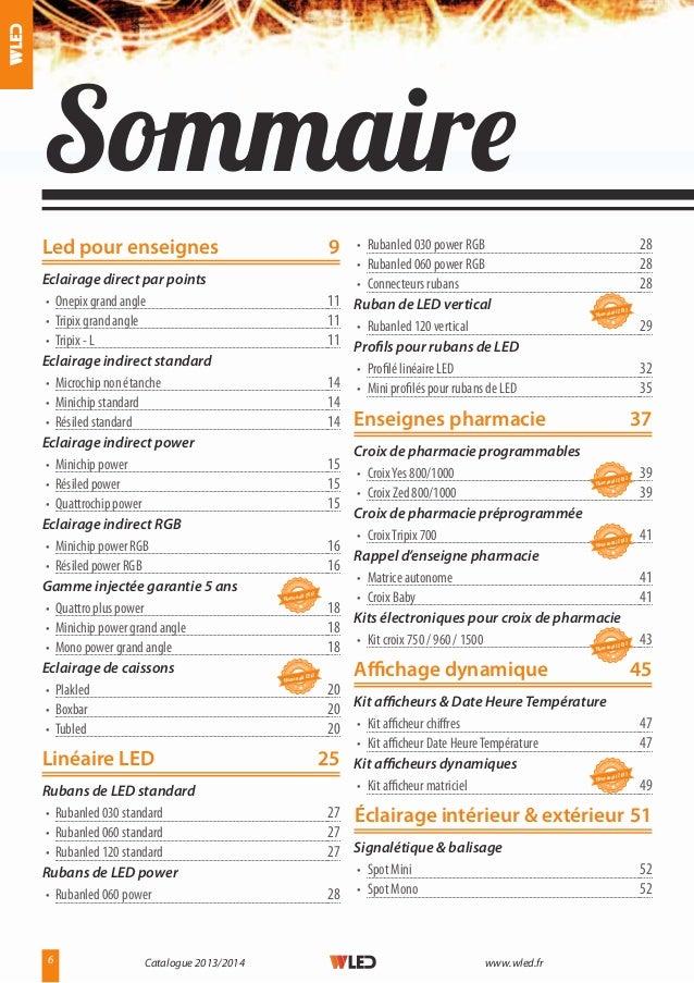 Catalogue fournisseur led pour enseignes lumineuses for Quelle fr catalogue 2013