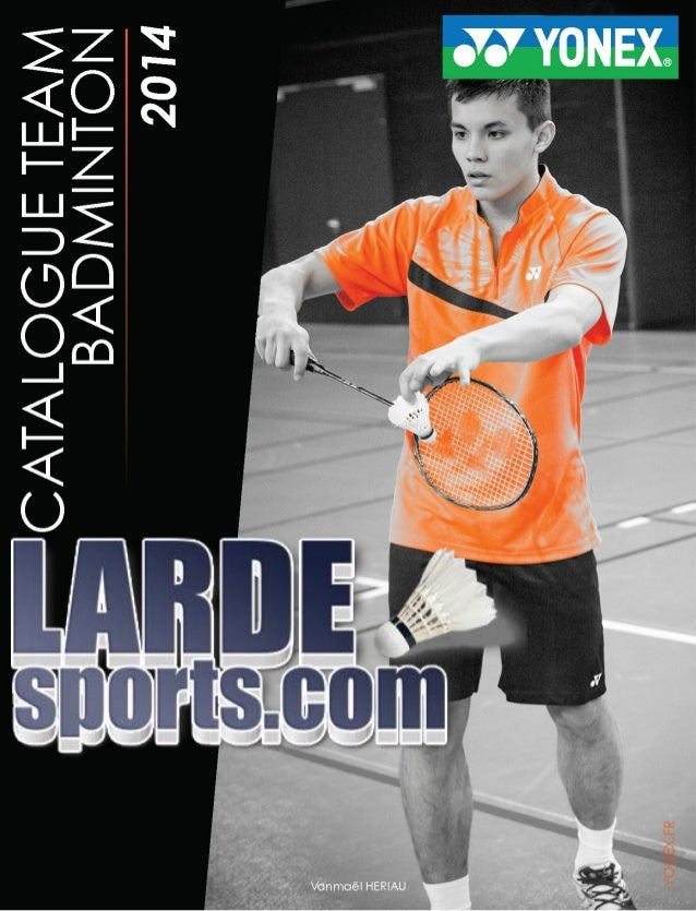 Catalogue textile Yonex Larde Sports 2014
