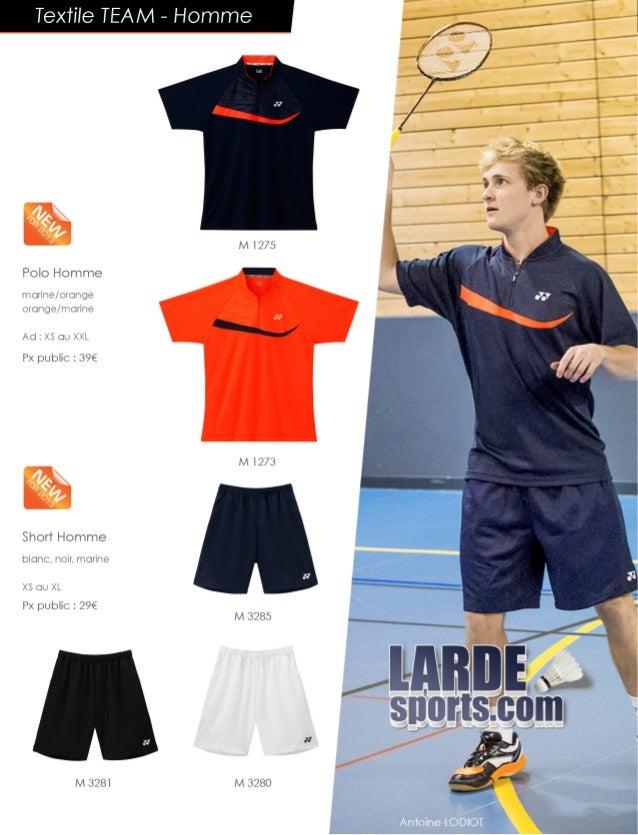 Catalogue textile Yonex Larde Sports 2014 Slide 2