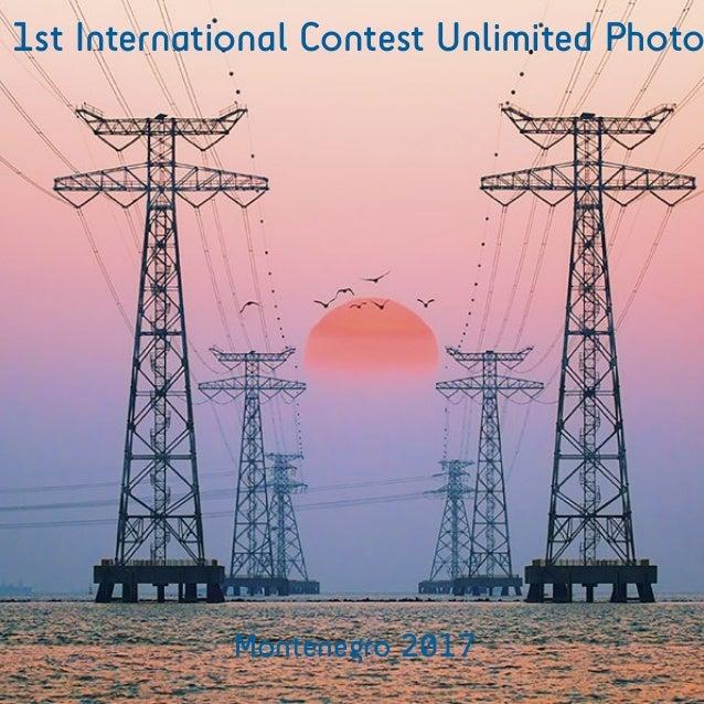 1st International Contest Unlimited Photo Montenegro 2017