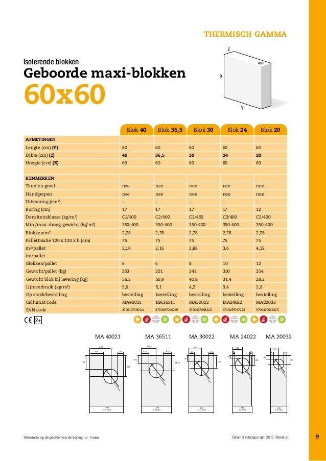 Ytong Blokken Gamma.Cellumat Catalogus Belgie
