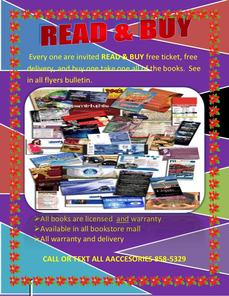-762001214755 Every one are invited READ & BUY free ticket, free delivery, and buy one take one all of the books.  See in ...