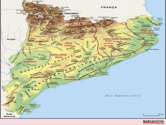  Identificació: el mapa tracta del clima de Catalunya. No apareix l'any de publicació del mapa ja que el clima és    con...