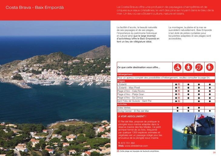 Le tourisme accessible en catalogne - Office de tourisme costa brava ...