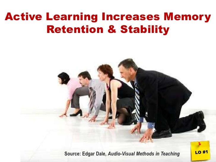 LO #1<br />Source: Edgar Dale, Audio-Visual Methods in Teaching<br />