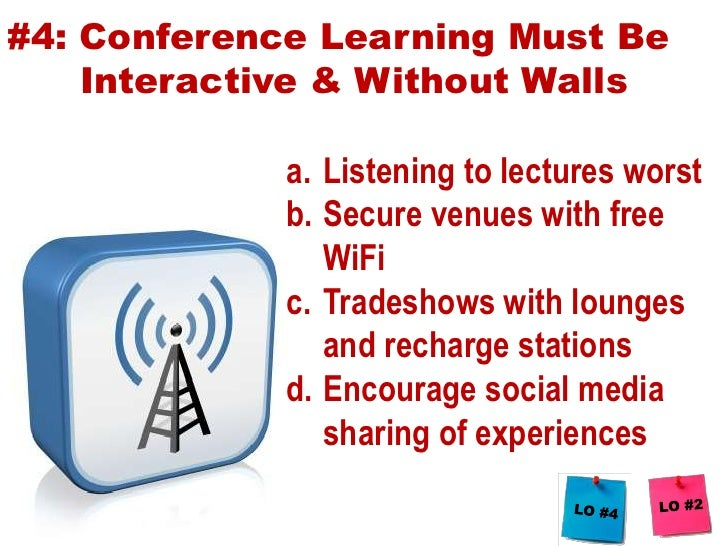 #3: Conference sessions must transition from push to pull<br /><ul><li>New