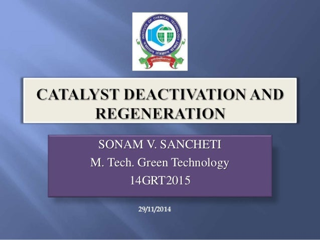 SONAM V. SANCHETI M. Tech. Green Technology 14GRT2015 29/11/2014