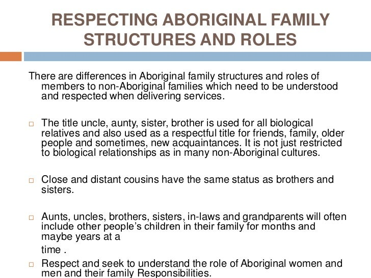 A study about family structures and roles