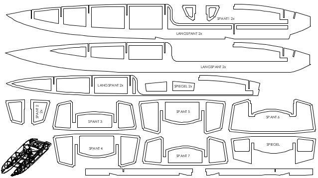 plans catamaran