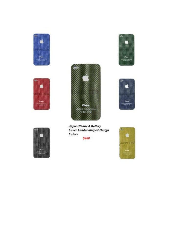 Carcasa de Iphone 4