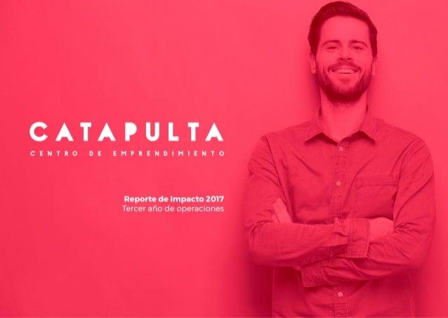 Reporte Catapulta 2017