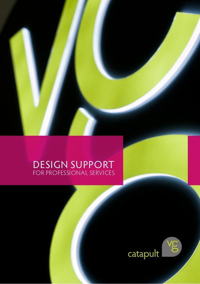 DESIGN SUPPORT FOR PROFESSIONAL SERVICES