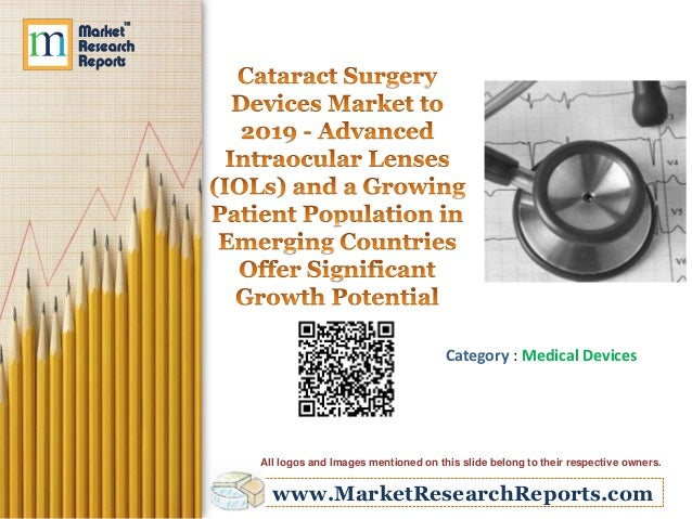 Cataract Surgery Devices Market to 2019 - Advanced