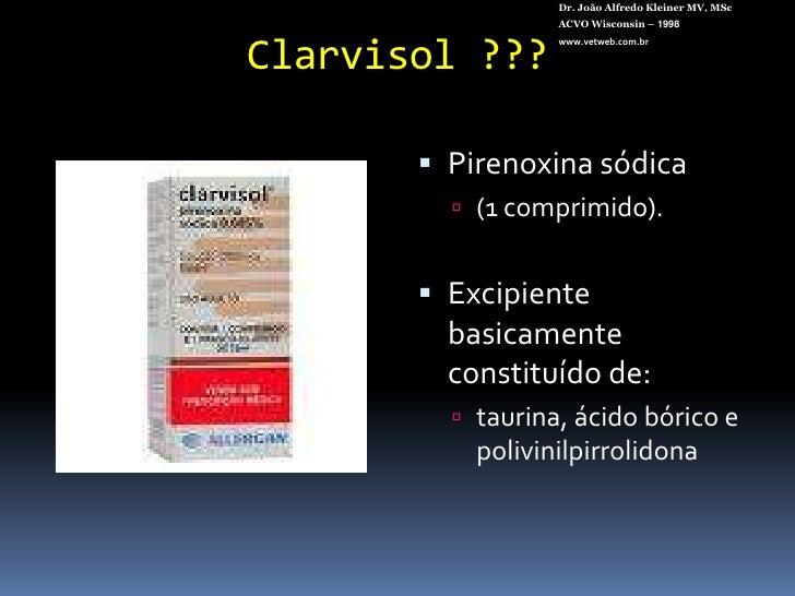 Colírio de corticóide tópico NÃO CAUSA<br />catarata nem glaucoma nos cães e gatos !!!!<br />Dr. João Alfredo Kleiner MV, ...
