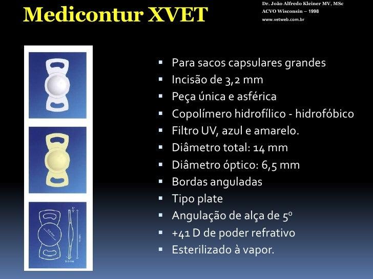 Dr. João Alfredo Kleiner MV, MSc<br />ACVO Wisconsin – 1998<br />www.vetweb.com.br<br />Emulsificação  (FACO)<br />