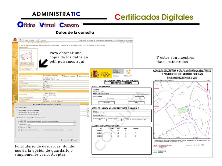 Consulta catastro virtual inmobiliario catastro virtual for Catastro malaga oficina virtual