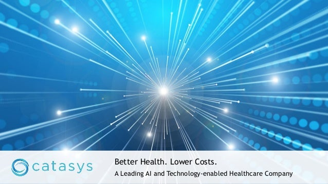 Better Health. Lower Costs. A Leading AI and Technology-enabled Healthcare Company